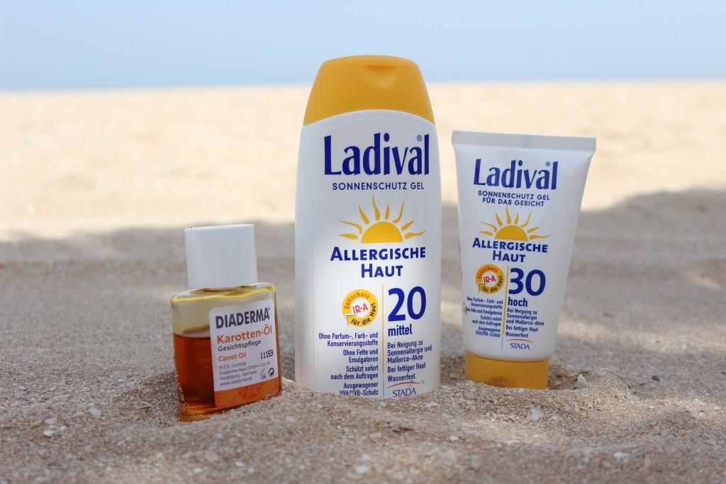 Beauty Favoriten - Beach Special Sonnencreme Gel Allergische Haut