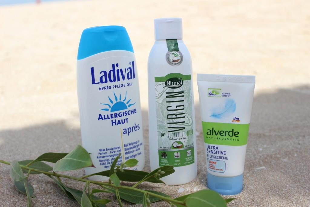 Beauty Favoriten - Beach Special Alverde After Sun und Kokosöl