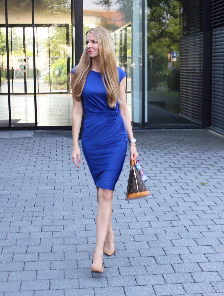 The perfect blue dress