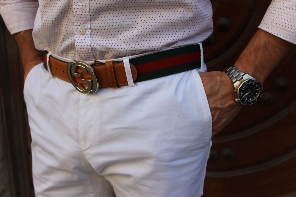 Gucci Belt TAGHeuer Hugo Boss Zara Summer in the city