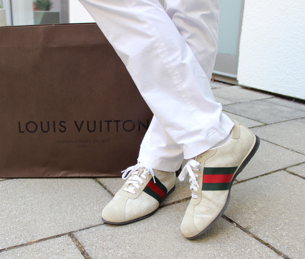GUCCI Hugo Boss Louis Vuitton PEPPER AND GOLD Summer in the city