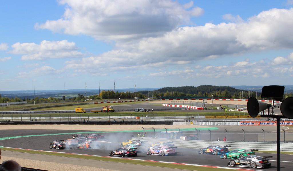 Rassiger Motorsport bei der DTM - Pepper And Gold goes Nürburgring