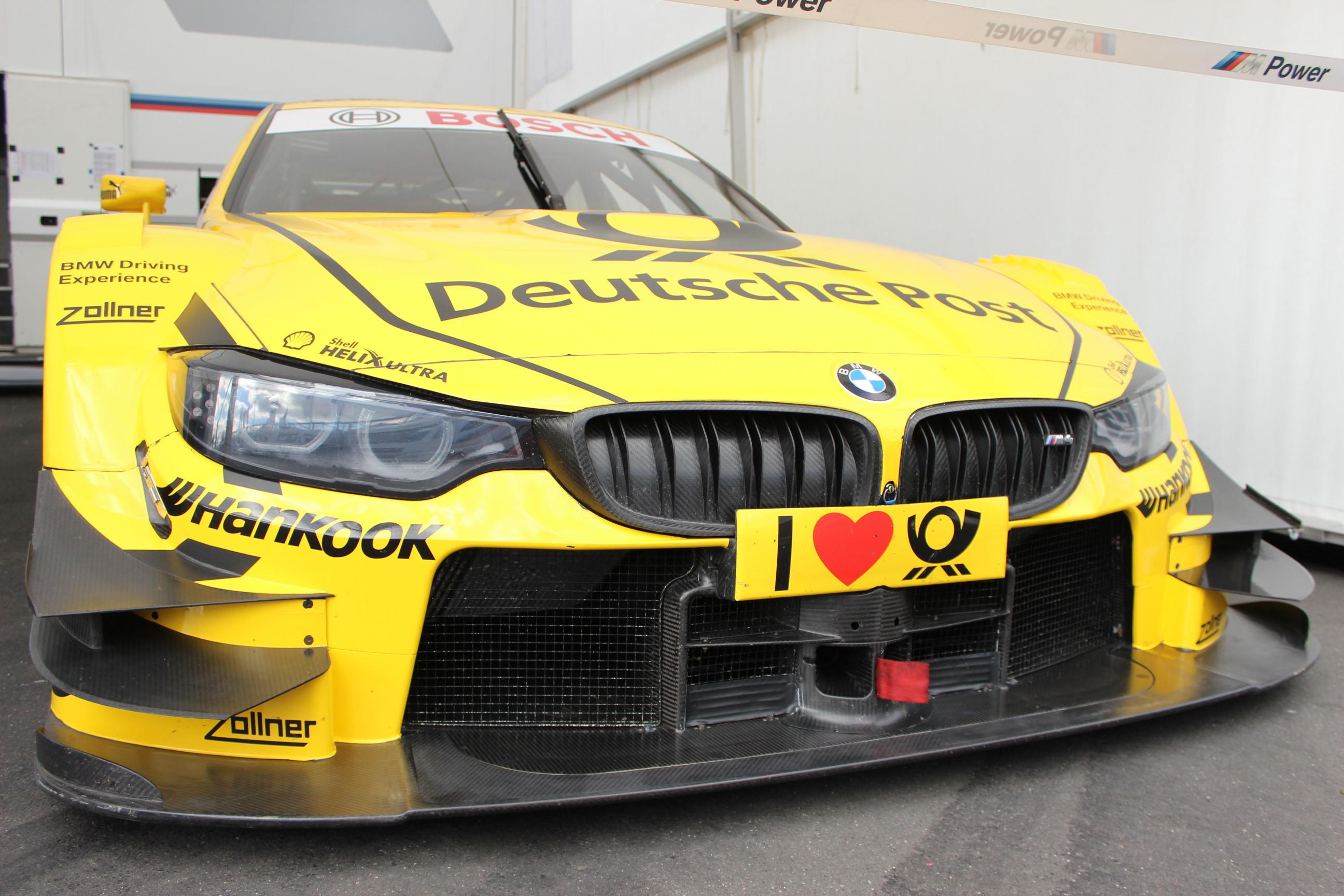 Rassiger Motorsport bei der DTM - Pepper And Gold goes Racing