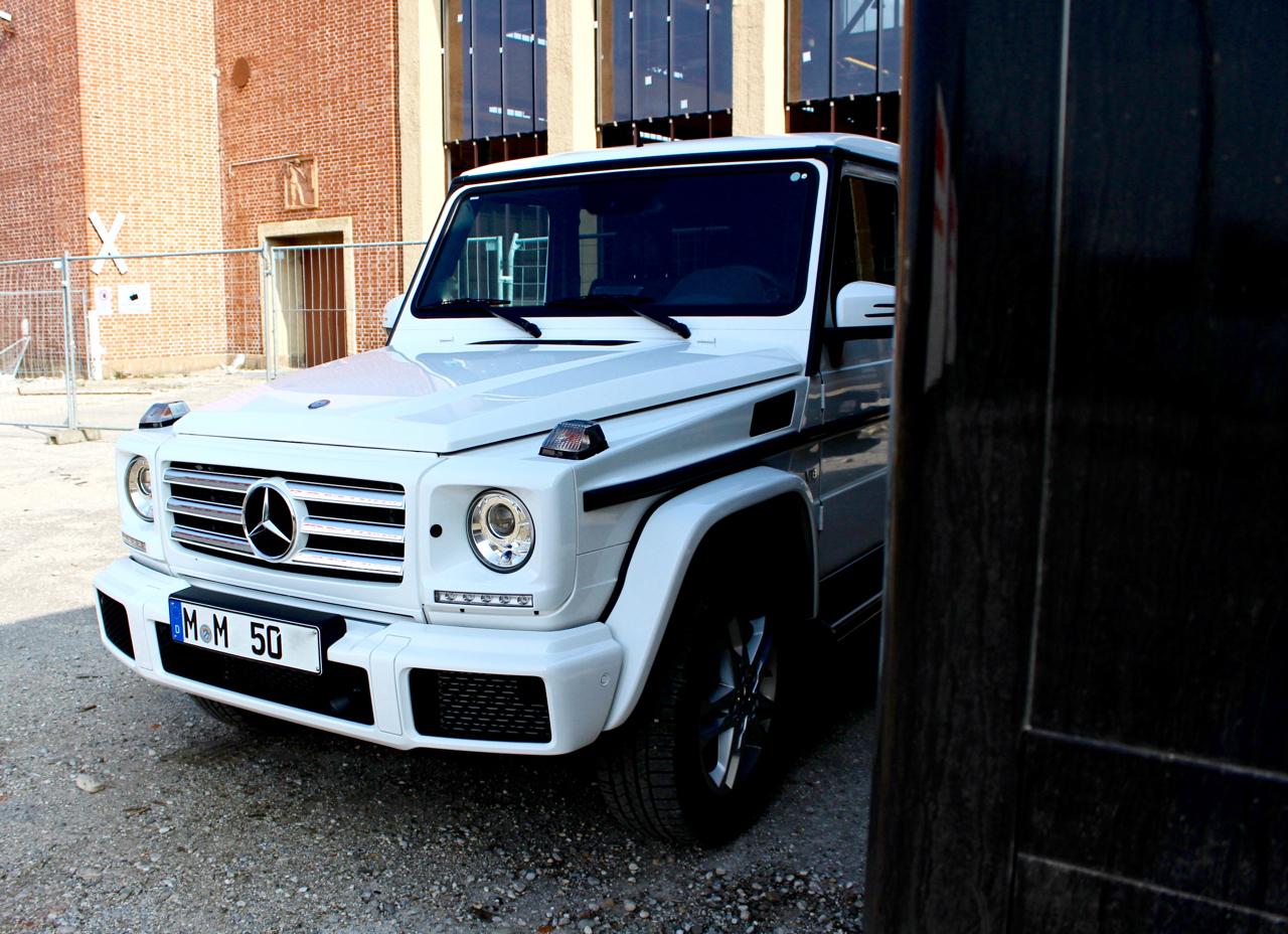 Dampfhammer mit Luxusstatus GModell GKlasse Mercedes Daimler Testdrive Probefahrt PepperAndGoldtestet G LuxuryGoods Lifestyle Autos Fahrzeuge Cars Offroader Geländewagen Extraklasse