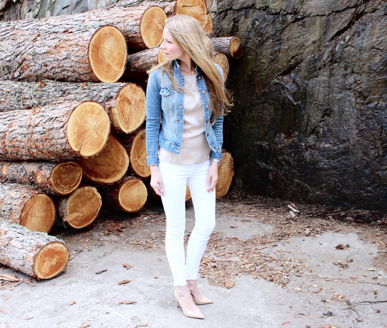 Hello Spring Frühling Spring Fashion Mode Jennifer RepeatCashmere Zara HundM H&M Jeans Denim Lifestyle Tuch Hermès Scarf Schal PepperAndGold Seide Silk Repeat