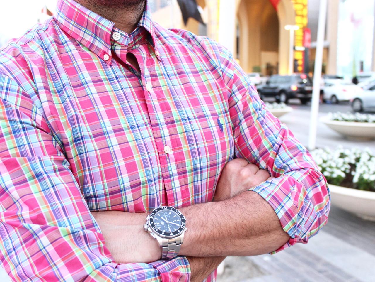 Schneller Downtown Look Dubai UAE VAE Outfit Sommer Summer Fashion Mode Dirk Lifestyle PepperAndGold Zara H&M HundM Boss BossOrange HugoBoss RalphLauren Polo PoloRalphLauren Ralph Lauren Chino Shirt