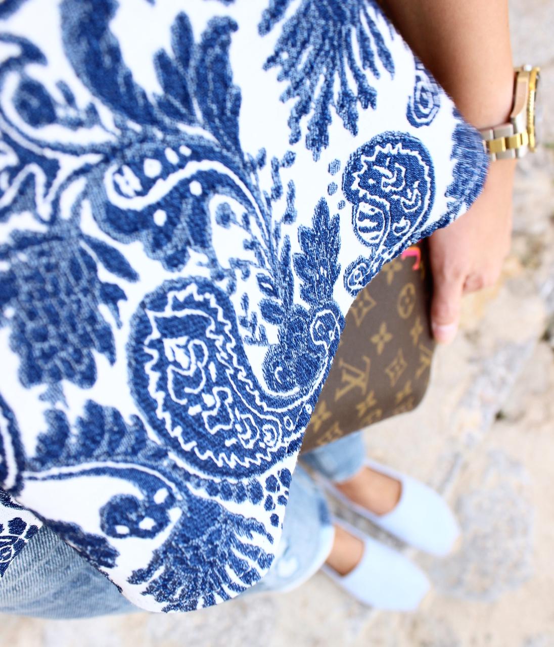 Boyfriend Jeans Outfit auf Mallorca LouisVuitton LV Vuitton Andratx Boyfriend Denim Fashion Mango Mode Soludos Travel Zara Reise Look Jennifer Jenni PepperAndGold