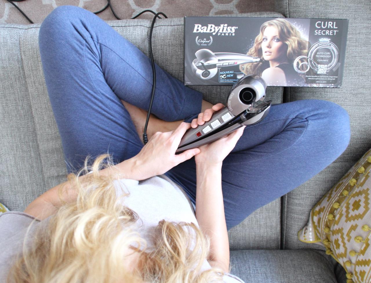 Perfekte Locken mit dem Babyliss Curl Secret Ionic JenniTestet Lifestyle Beauty Hair Haare Haarpflege Styling Frisur Locken Lockenstab Curls Babyliss Pflegeprodukte