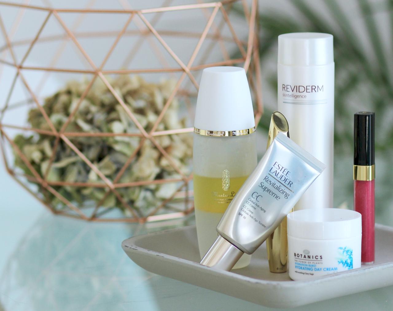 10 Beauty Favoriten im September Kosmetik Cosmetics Master Lin MAXFACTOR Mascara Chanel Lipgloss Estée Lauder BiRetix Botanics Reviderm Skin Skincare Hautpflege Batiste