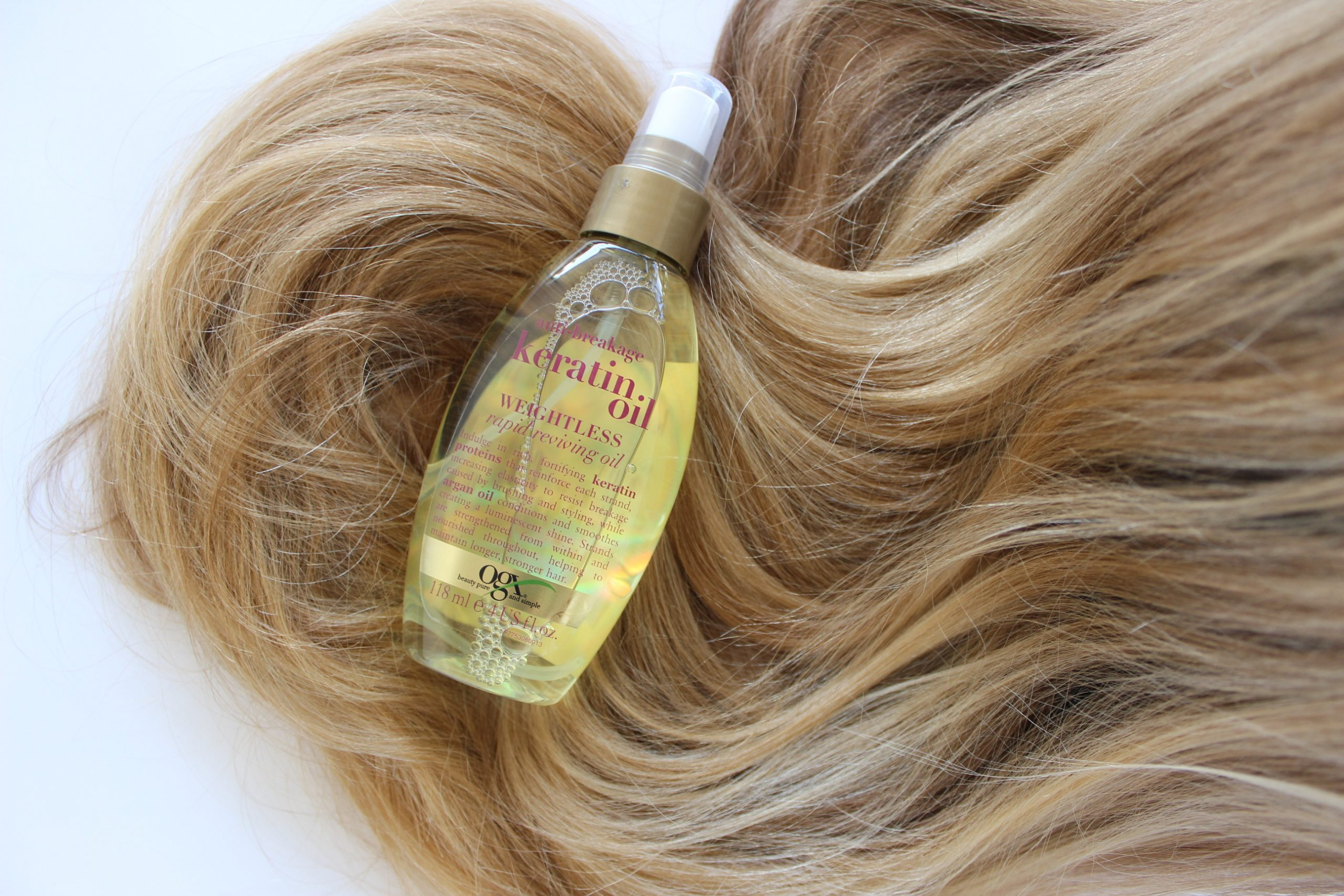 Jenni testet #1: Organix Macadamia Oil Shampoo + Conditioner Haarpflege mit Pepper And Gold