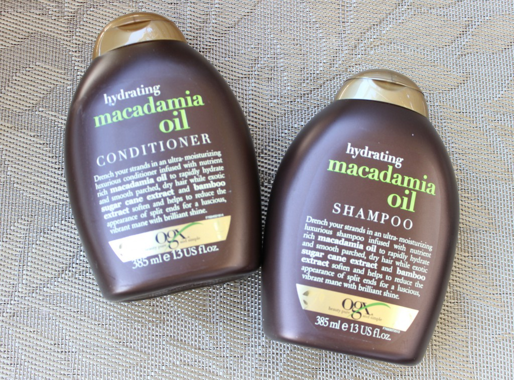 Jenni testet - Organix Macadamia Oil Shampoo + Conditioner