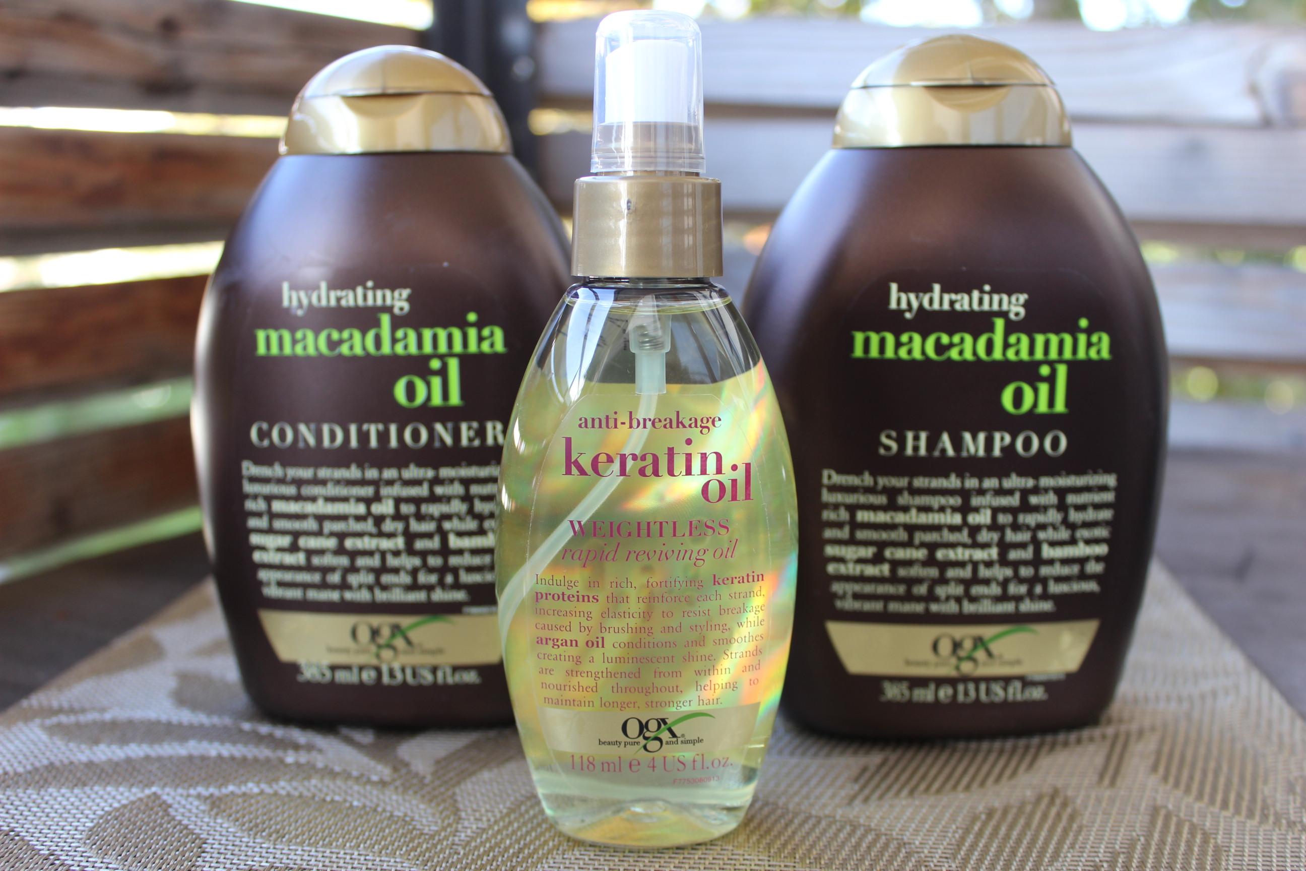 Jenni Testet Organix Macadamia Oil Shampoo Und Conditioner