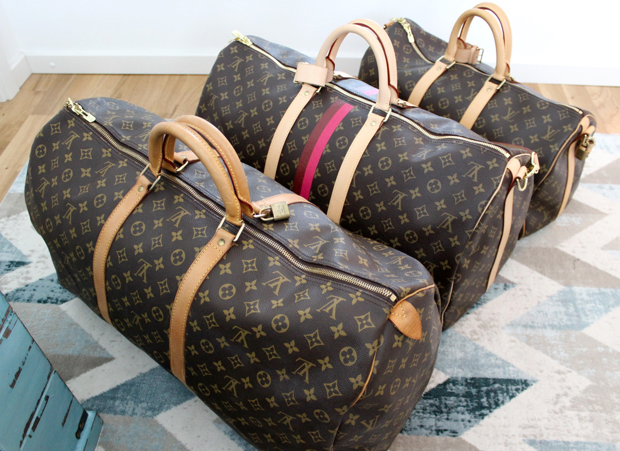 louis vuitton keepall guide pepper and gold. Black Bedroom Furniture Sets. Home Design Ideas
