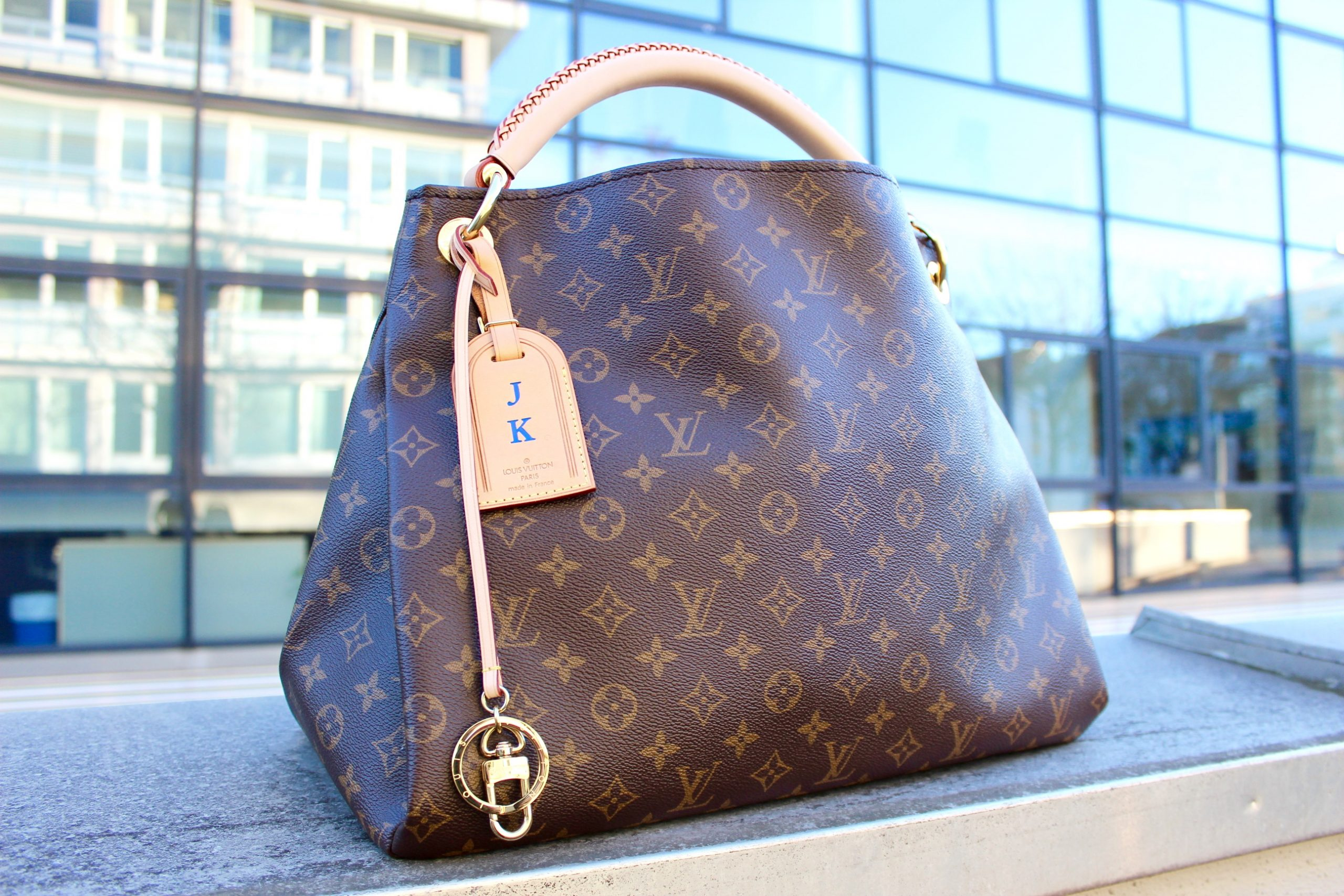 Louis Vuitton Artsy Review Jennitestet Pepper And Gold Fashion Bags Lieblingstasche Rezension Canvas Monogram Alcantara LV
