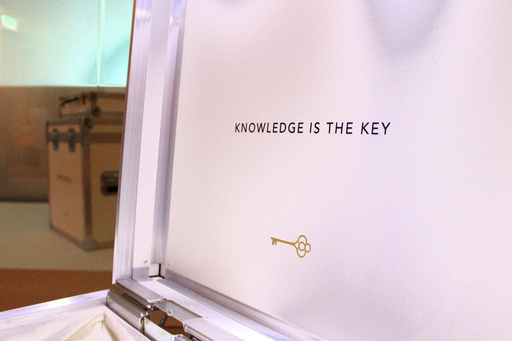 La Clé - knowledge is the key PepperAndGold Premiere Kosmetik SwissMade