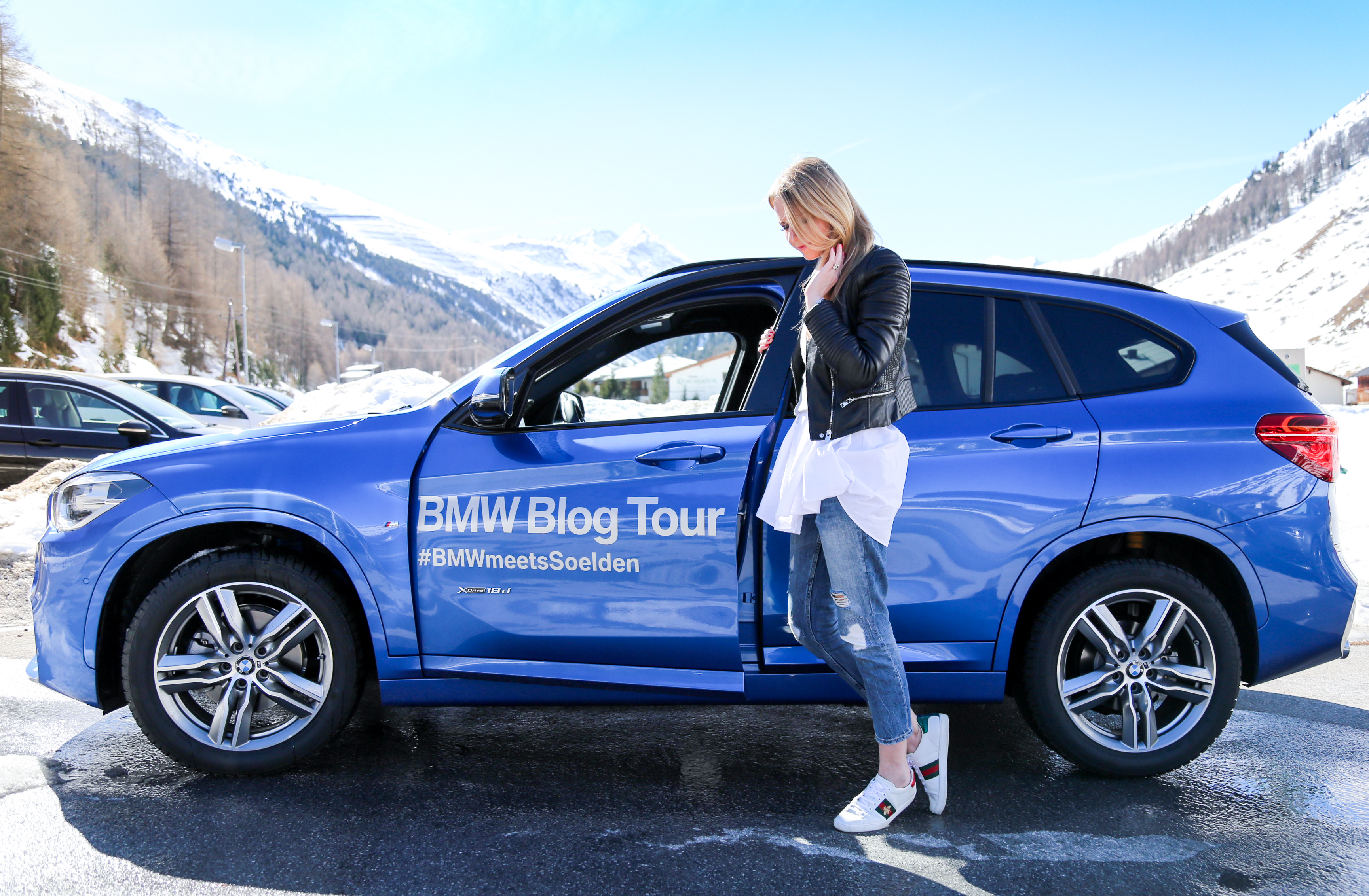 Travel Diary der BMW Blog Tour mit dem BMW X1 Blogger Alpen Ötztal Berge Mountains Wellness Hotel Längenfeld AquaDome Sauna Jenni PepperAndGold Reise Kurzurlaub Ausflug