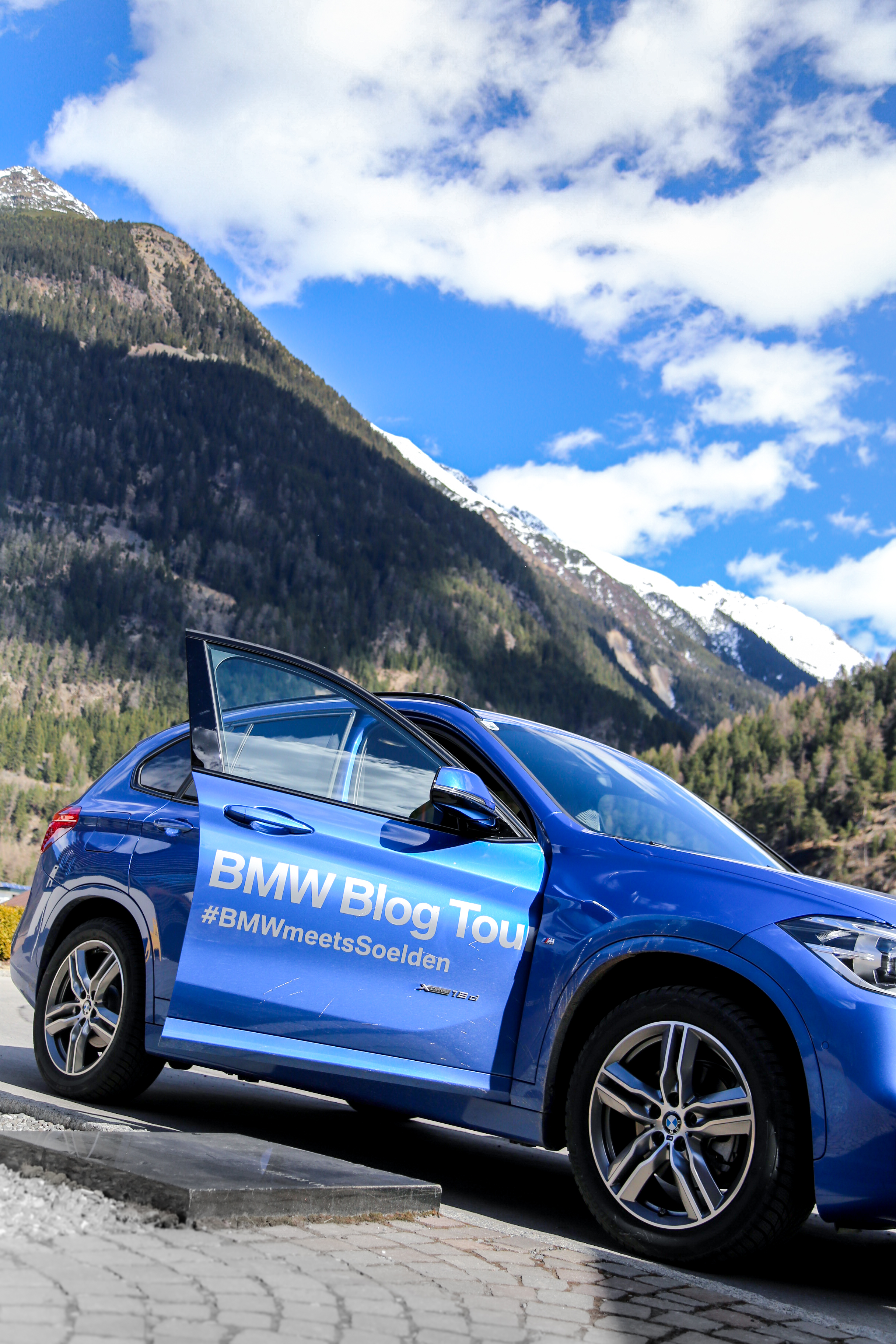 Travel Diary der BMW Blog Tour mit dem BMW X1 Blogger Alpen Ötztal Berge Mountains Wellness Hotel Längenfeld AquaDome Sauna Jenni PepperAndGold Reise Kurzurlaub Ausflug