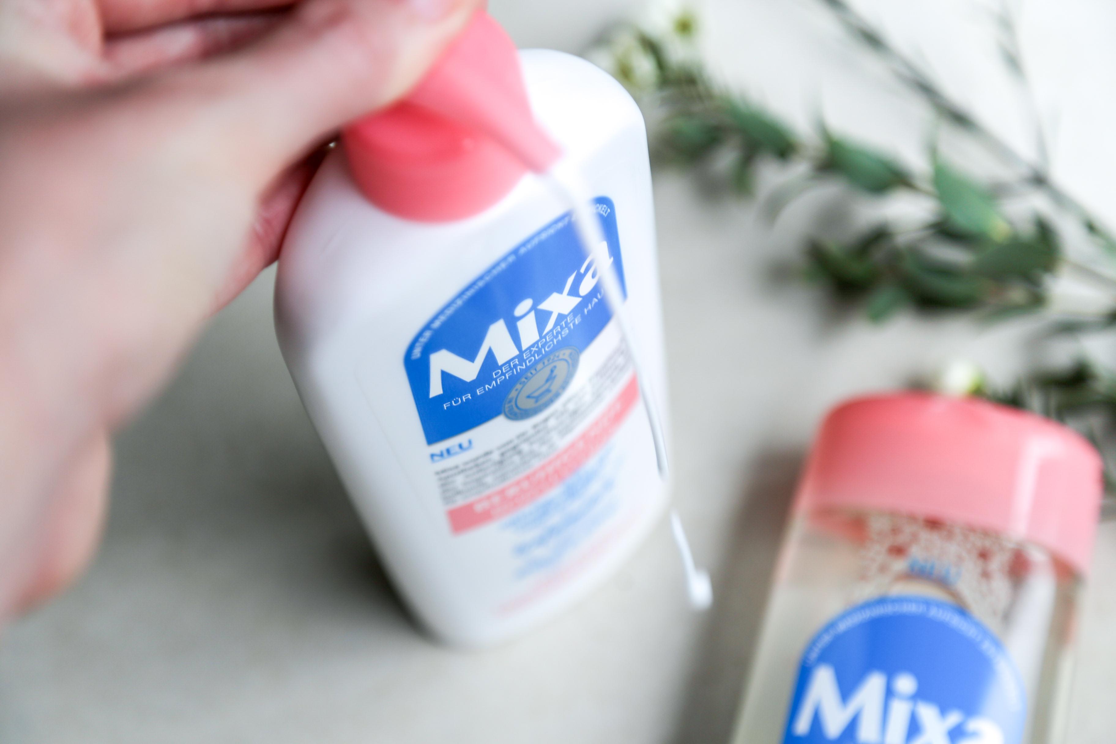 Was tun bei empfindlicher Haut: Pflegeprodukte von Mixa Skin Cosmetics Kosmetik Pflege Drogerie Apotheke Skincare sensibel sensitive Jennifer PepperAndGold sensibleHaut