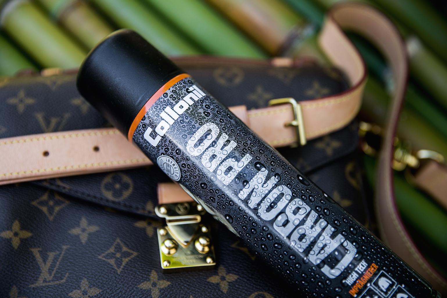Wie entferne ich Wasserflecken von meiner Louis Vuitton Handtasche? LV Bags Taschenpflege LVOE Collonil Lederpflege Leder Vacetta Monogram Vuitton