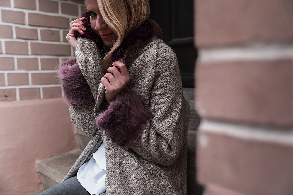Outfit-Streetstyle-FakeFur-Pepperandgold Fake Fur vs. Echtpelz: Wie ich meine Meinung änderte