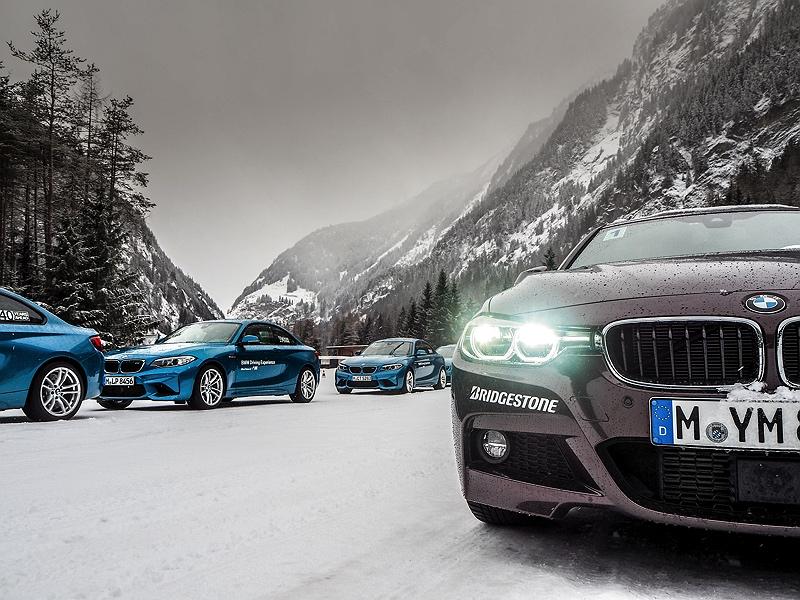 BMW M2 und 330d im Schnee BMW Driving Experience Ice and Snow
