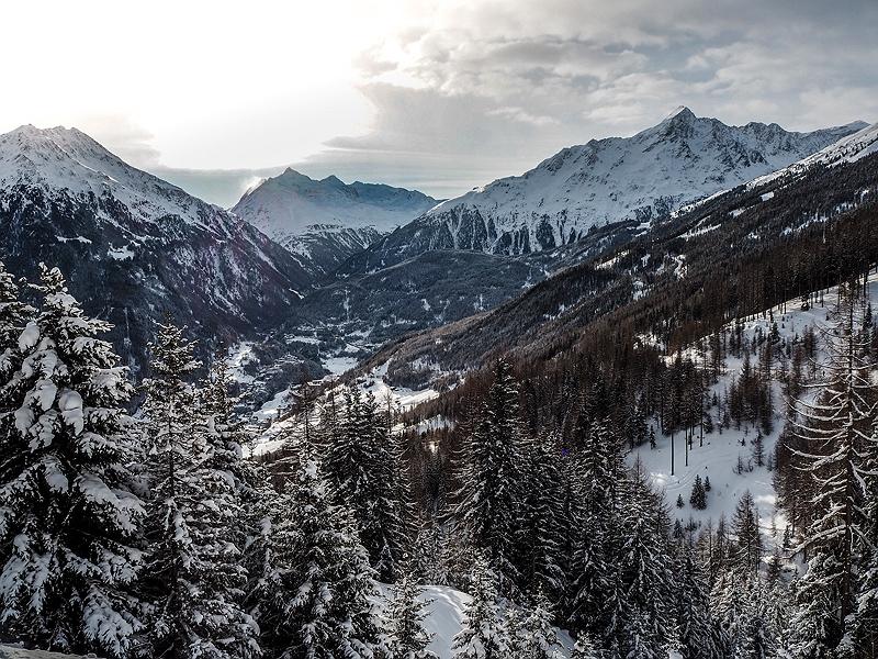 Panaoramaview Sölden Tirol Österreich BMW Driving Experience Ice and Snow