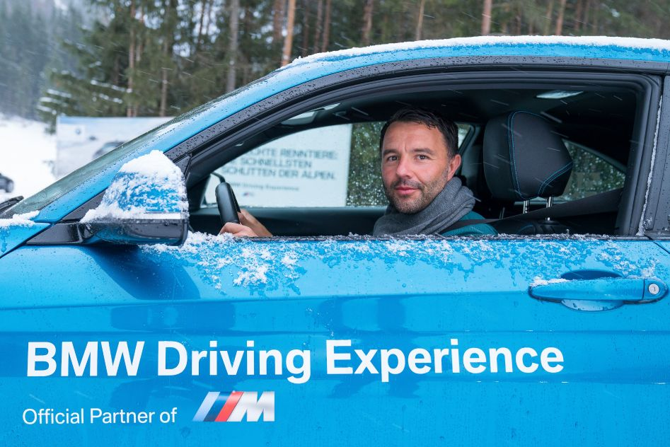 Dirk BMW M2 BMW Driving Experience Ice and Snow