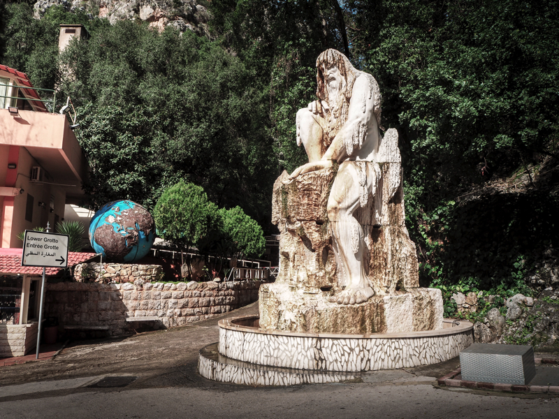 Der Libanon - viel mehr als nur Beirut Eingang Jeita Grotte