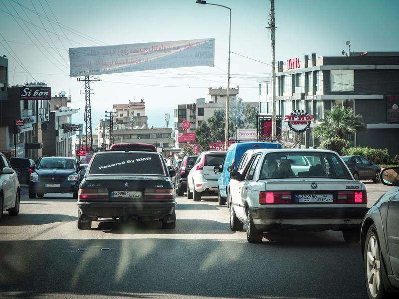 Der Libanon - viel mehr als nur Beirut Verkehrssituation im Libanon