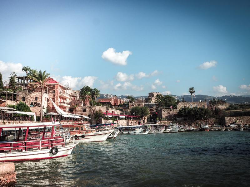 Der Libanon - viel mehr als nur Beirut Byblos Hafen
