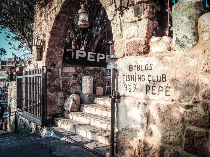 Der Libanon - viel mehr als nur Beirut Byblos Fishing Club