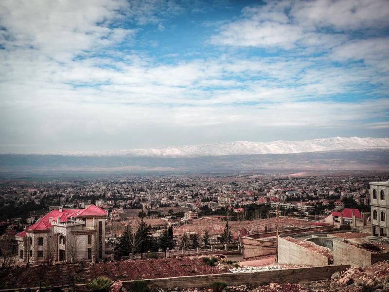 Der Libanon - viel mehr als nur Beirut Blick über Baalbek