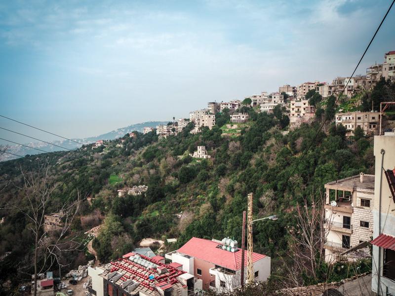 Der Libanon - viel mehr als nur Beirut Blick über Beirut