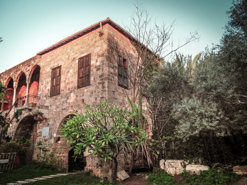 Der Libanon - viel mehr als nur Beirut Historisches Gebäude in Byblos