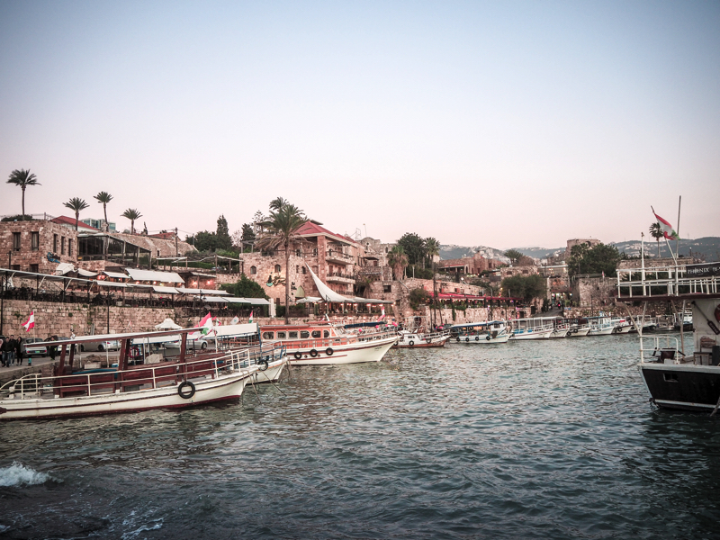 Der Libanon - viel mehr als nur Beirut Hafen von Byblos