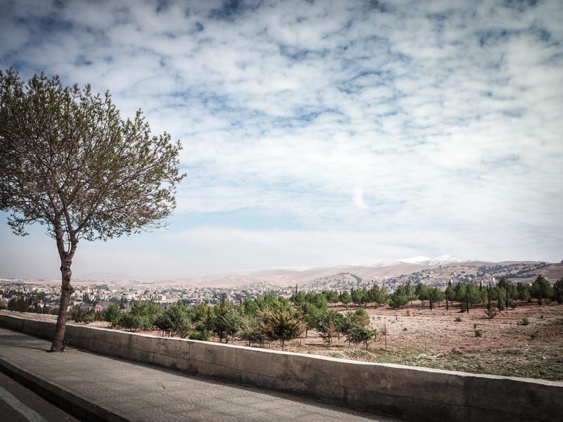 Der Libanon - viel mehr als nur Beirut Landschaft im Libanon