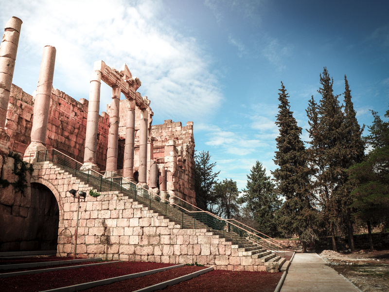 Der Libanon - viel mehr als nur Beirut Historische Tempelanlage von Baalbek