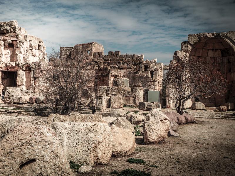 Der Libanon - viel mehr als nur Beirut Baalbek Tempel