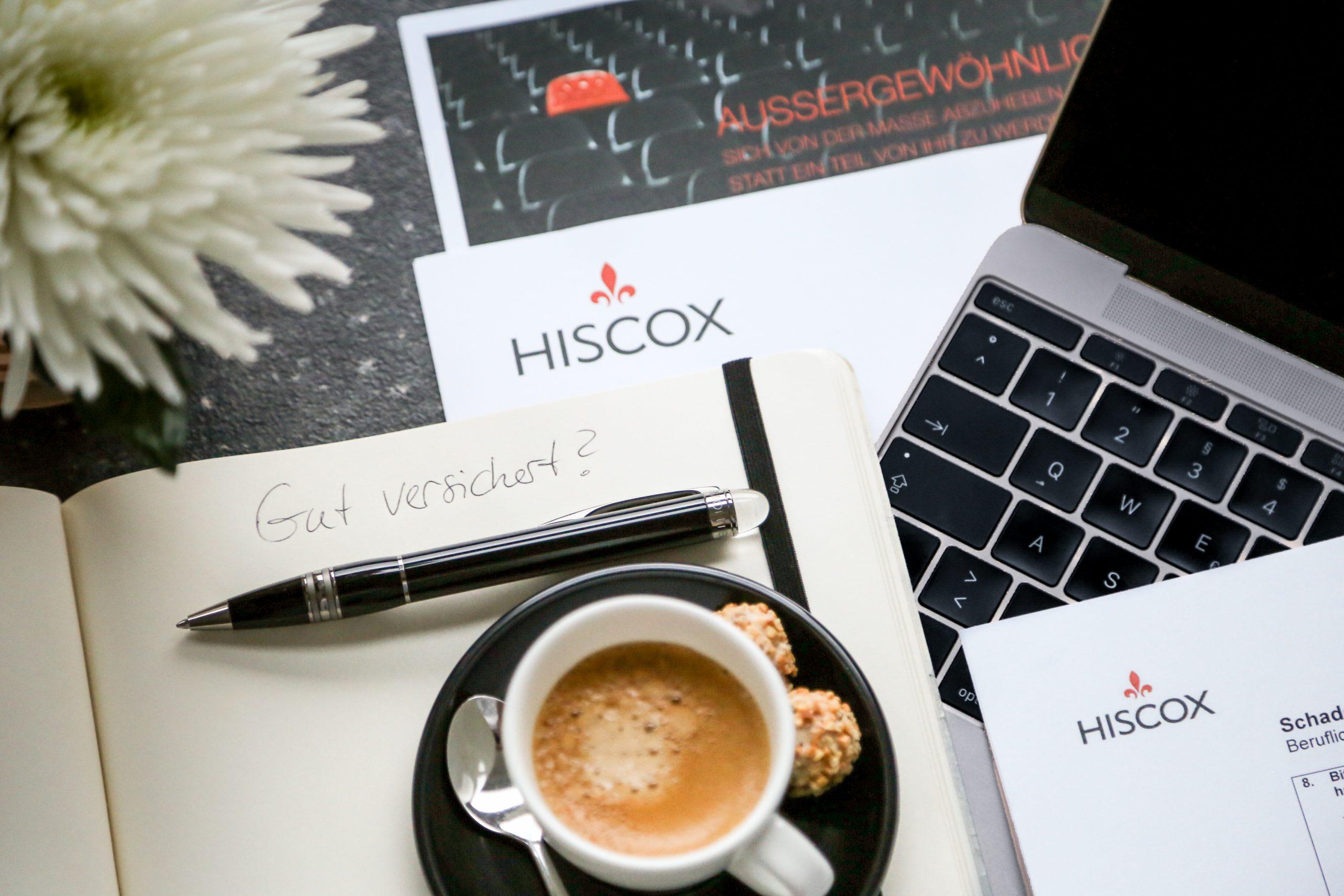 Top versichert im Beruf mit Hiscox