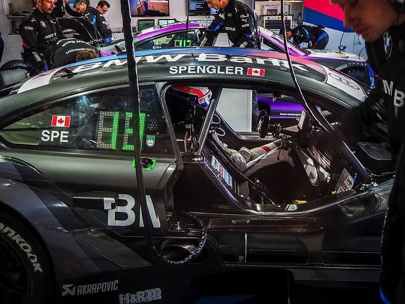 Hockenheimring DTM Boxengasse Pit View Bruno Spengler