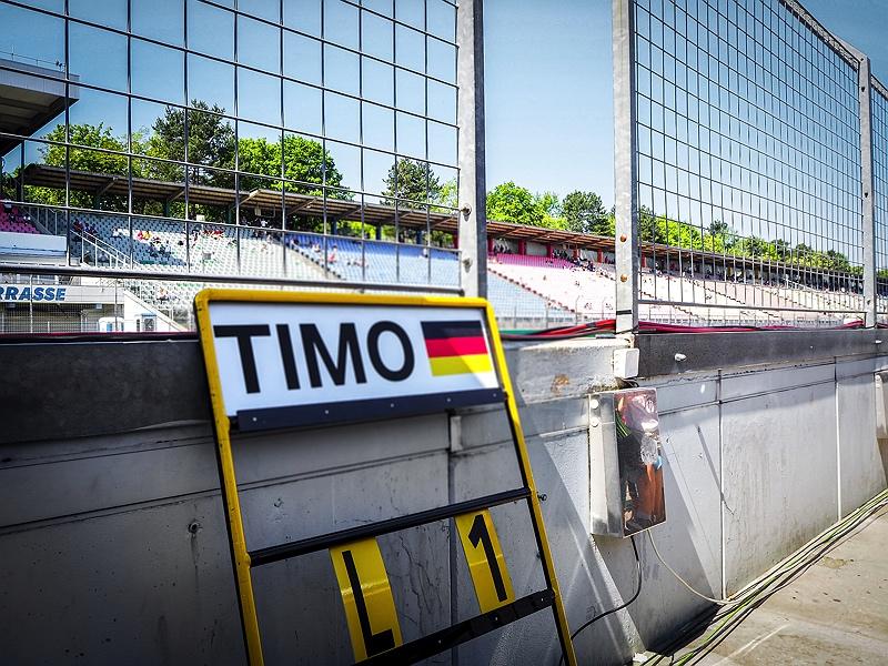 Hockenheimring DTM Boxengasse Pit Walk