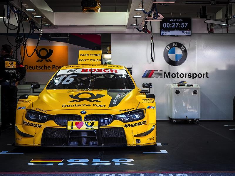 DTM BMW M4 Timo Glock Hockenheimring