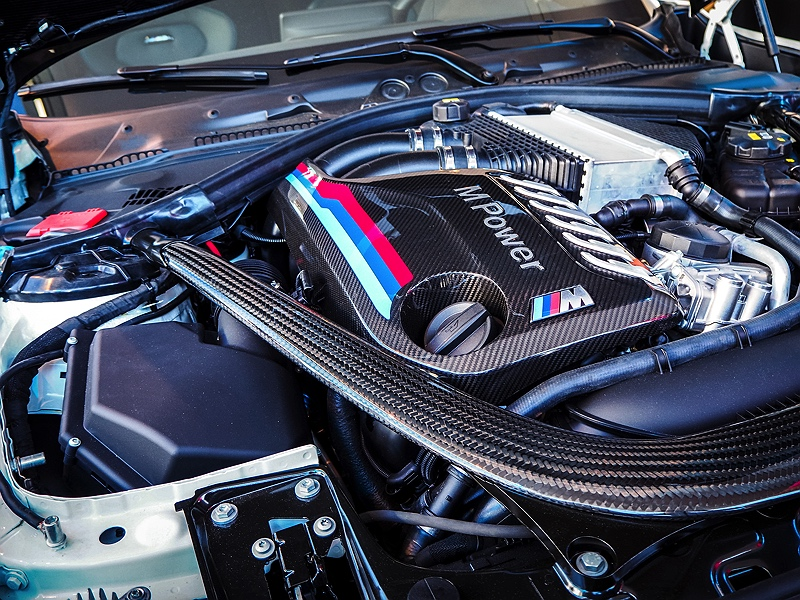 BMW M2 Competition Motor MPower