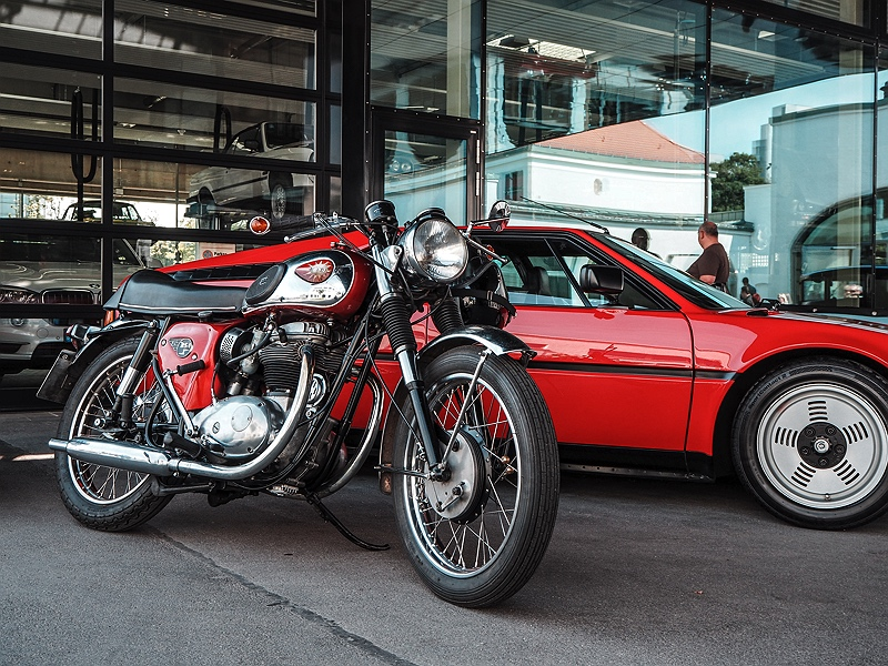 Wheels&Weisswürscht bei BMW Classic