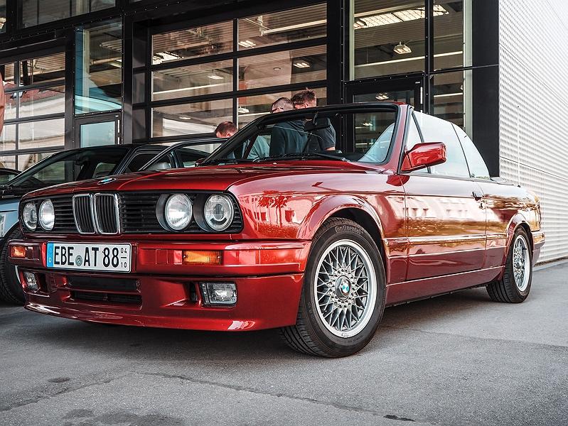 Wheels&Weisswürscht BMW Classic E30 Cabrio