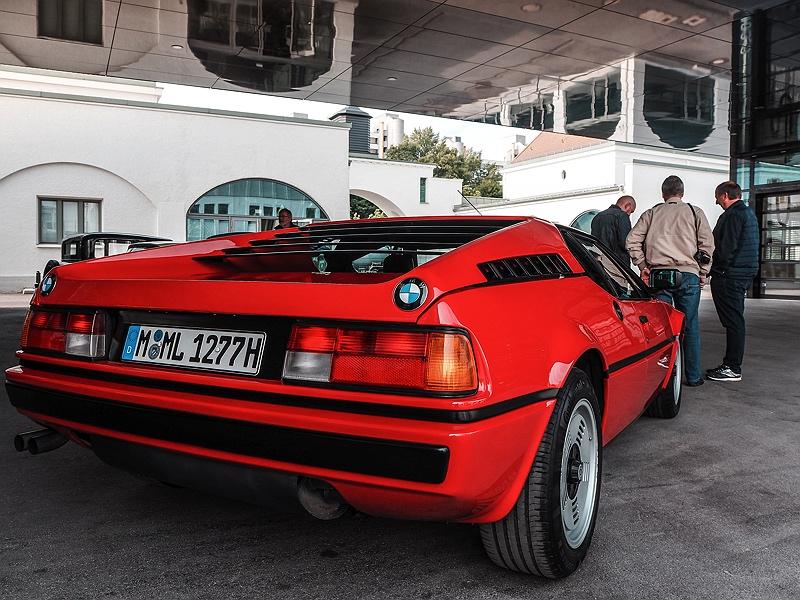 BMW M1 Heck