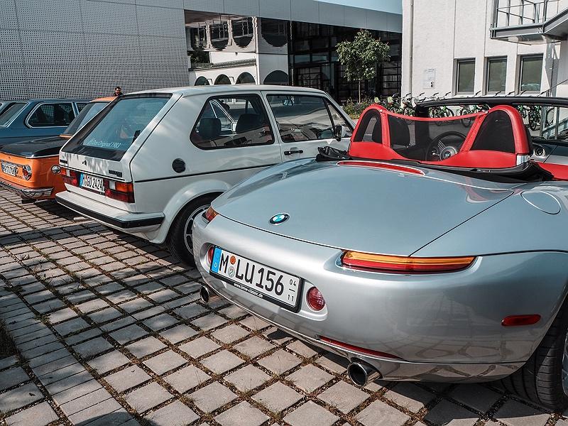 Wheels&Weisswürscht BMW Classic Z8 Heckansicht
