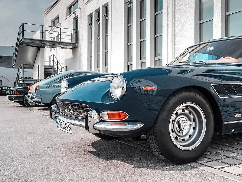 Wheels&Weisswürscht BMW Classic Ferrari