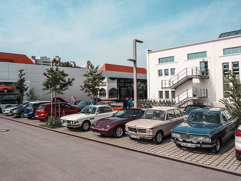 Wheels&Weisswürscht BMW Classic Moosacher Straße München