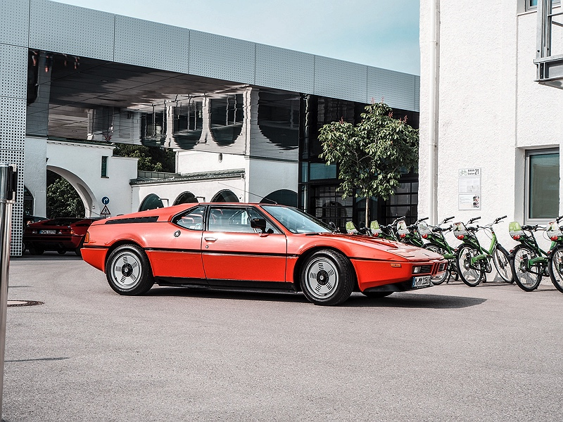 BMW M1 bei BMW Group Classic
